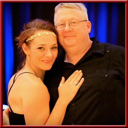 Rebecca Ludwick and David Moody